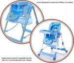Стул для кормления Jetem Piero Fabula blue